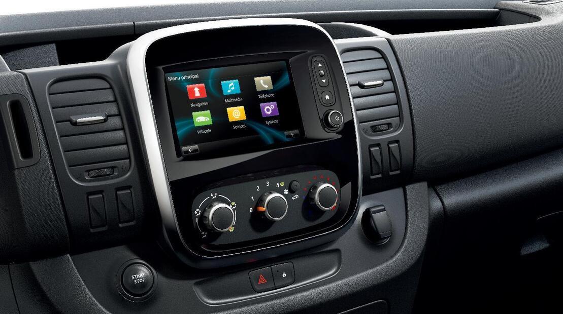 Радио с Bluetooth, USB & AUX с управление от волана за R-link с DAB функционалност