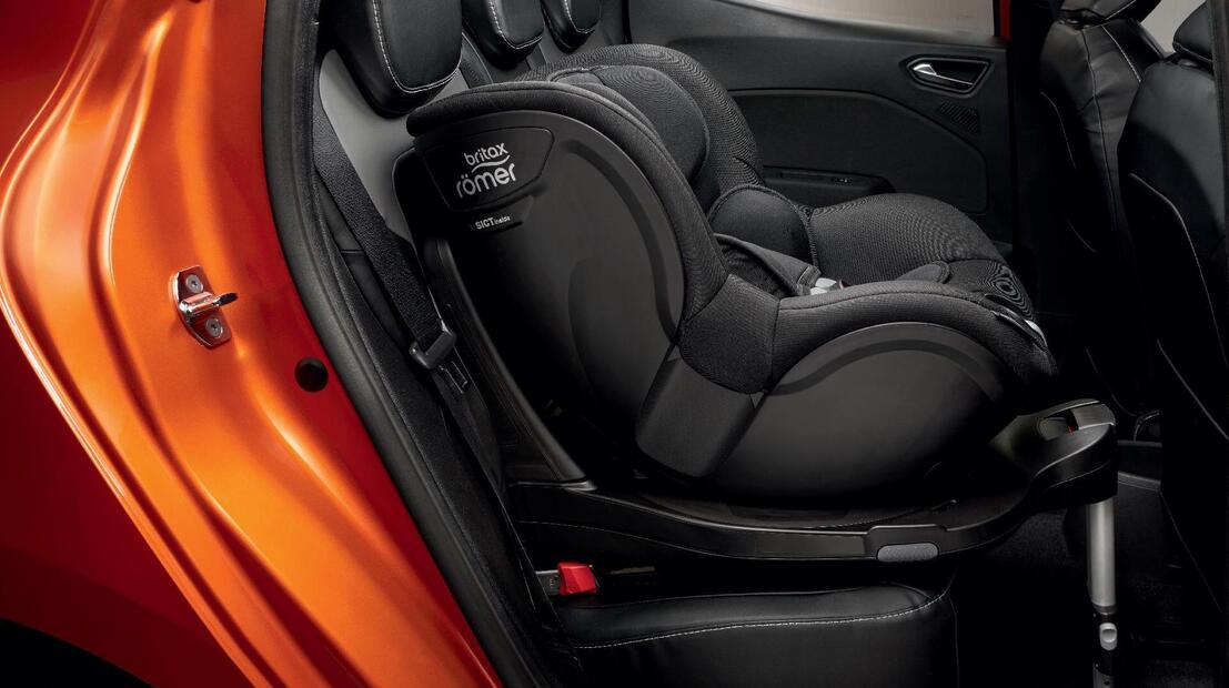 Система за закрепване на детска седалка ISOFIX за двете задни места