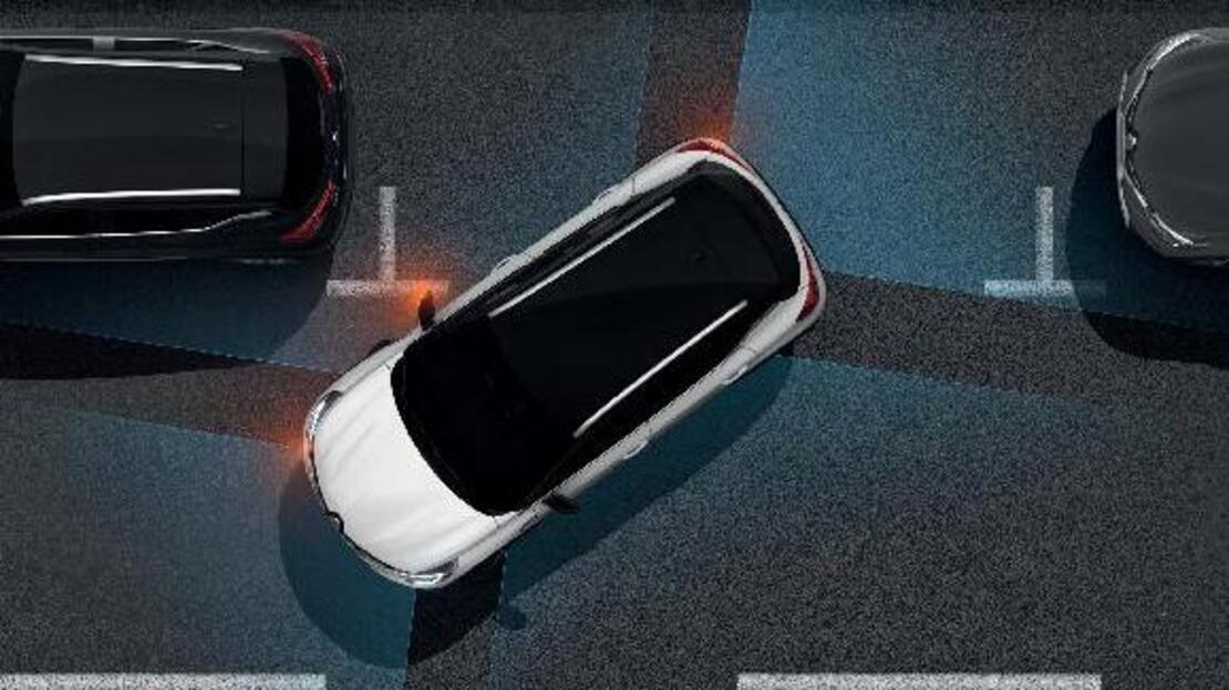 Преден и заден паркинг сензор