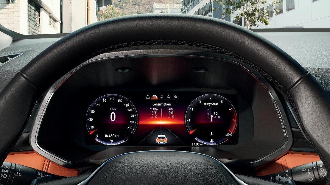 Digital Driver Display 10
