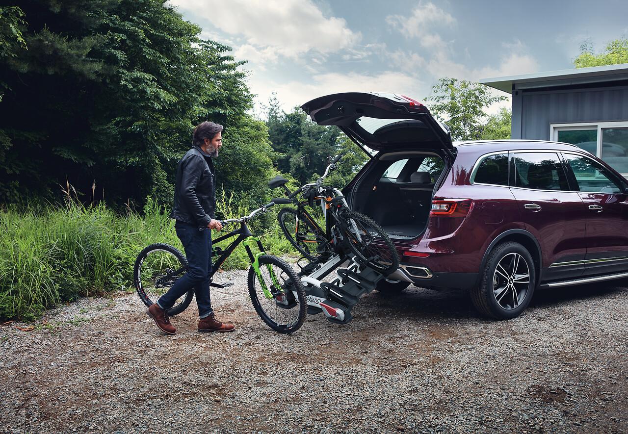 Porte-vélos Coach - sur attelage - 13 broches