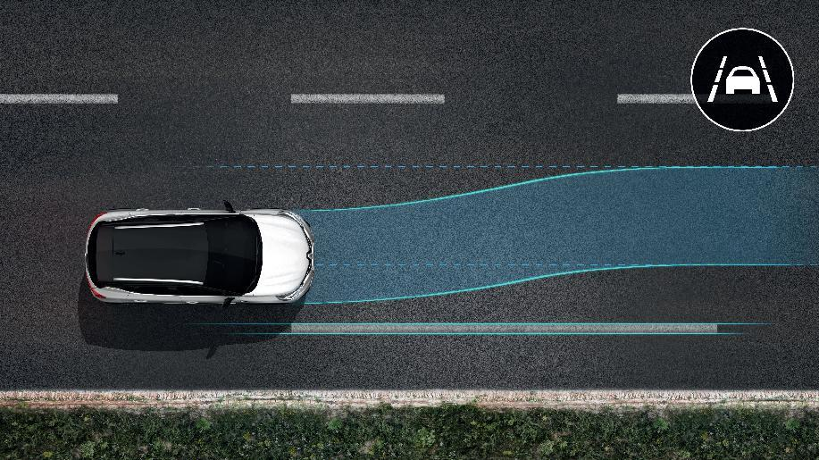 Lane Departure Warning (avviso superamento linea) con Lane Keep Assist