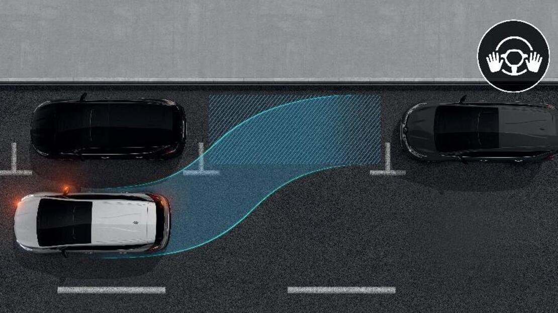 Aide au parking avant, arrière et latéral avec Easy Park Assist