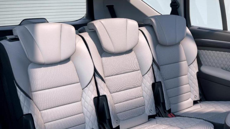 Ceintures de sécurité arrière 3 points avec limiteur d'effor