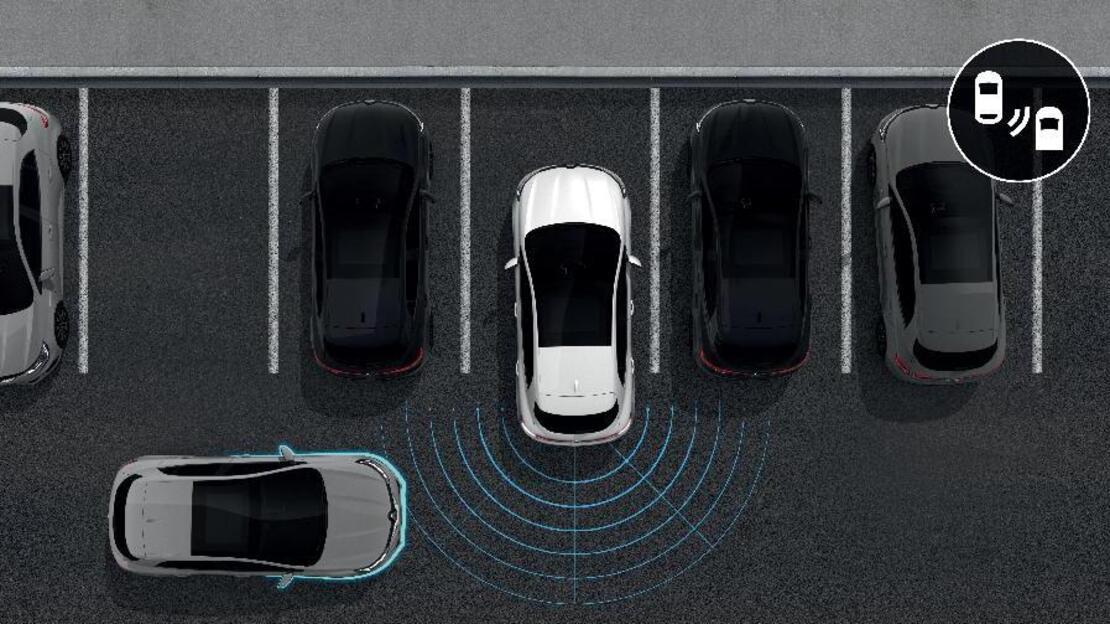 Sistem de asistenta la parcarea cu spatele (senzori acustici)