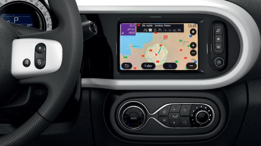 Integriertes Multimediasystem EASY LINK mit 7-Zoll Touchscreen, mit Navigation