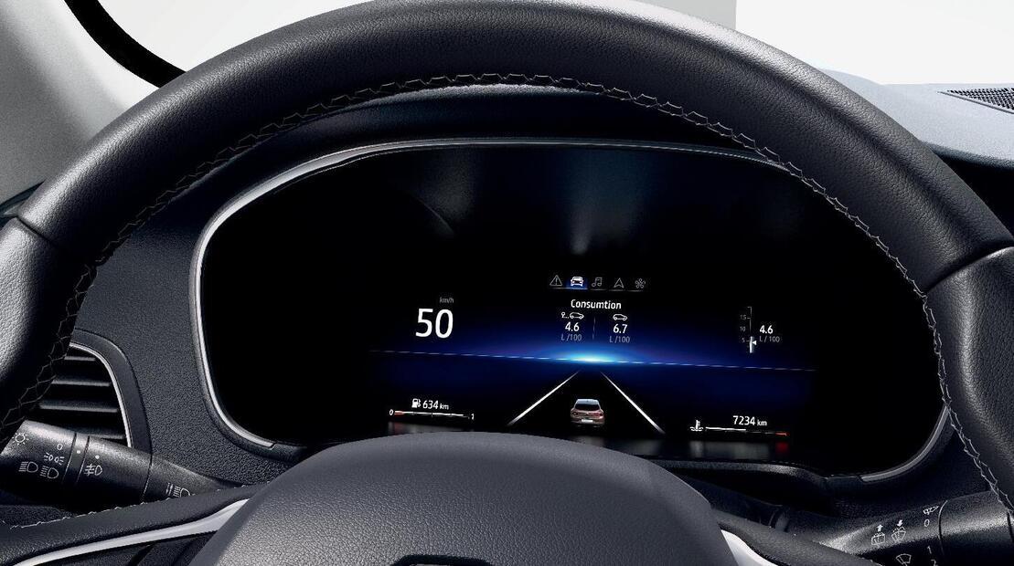 Digital Driver Display 10.2'' a colori con replicazione Navigazione 3D