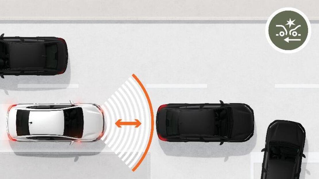 Système de freinage d'urgence autonome à des vitesses interurbaines 30-140km/h