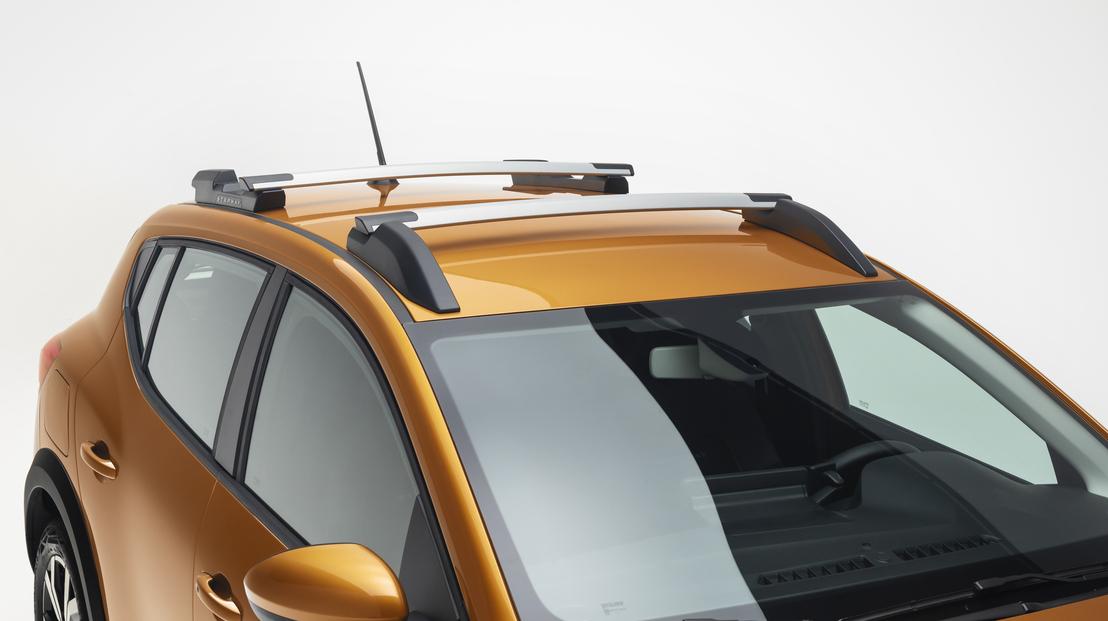 Dachreling mit modularen Dachlängsträgern