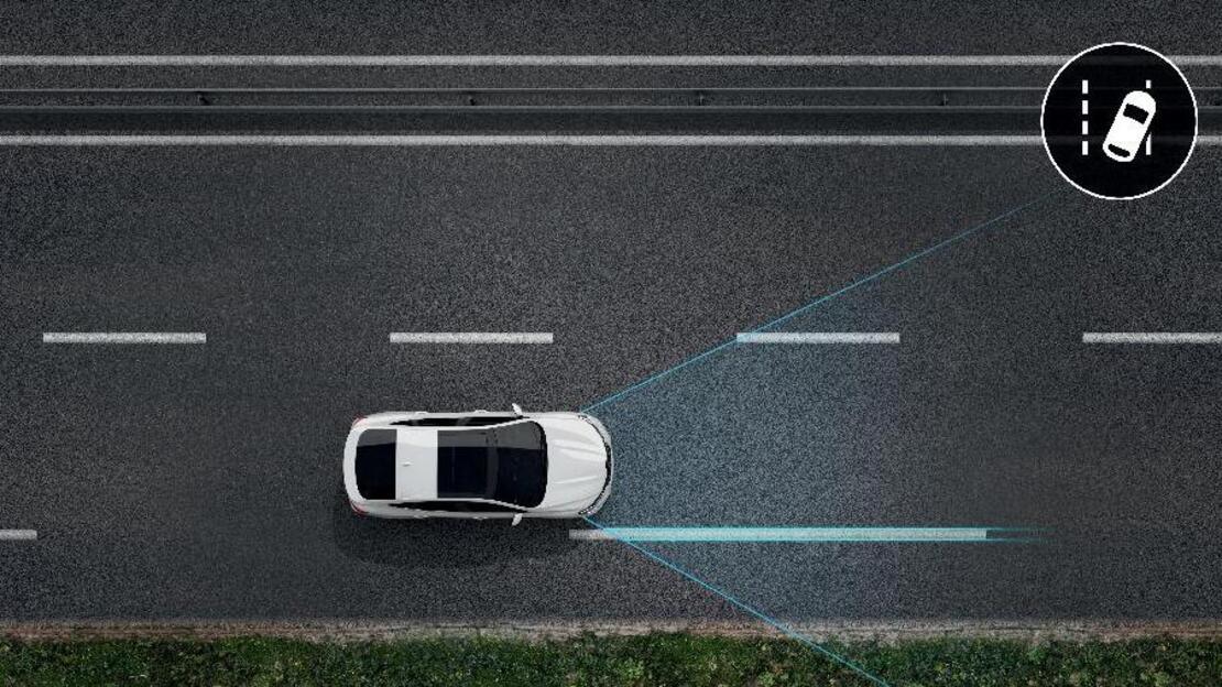 Lane Departure Warning with Lane Keep Assist
