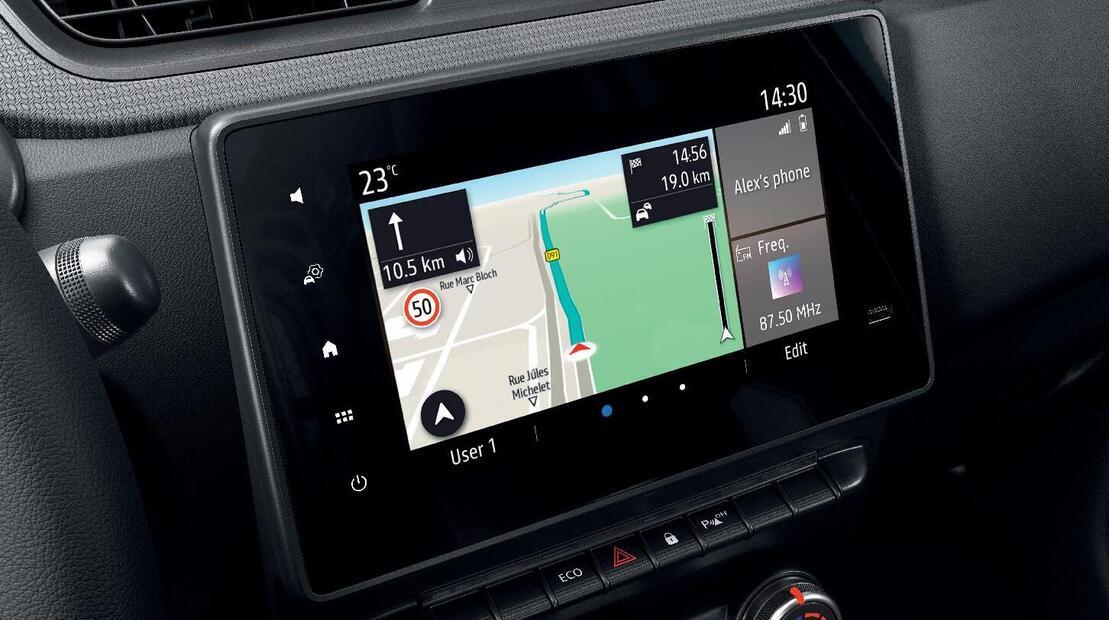 """Sistema multimediale EASY LINK 8"""" con navigazione"""
