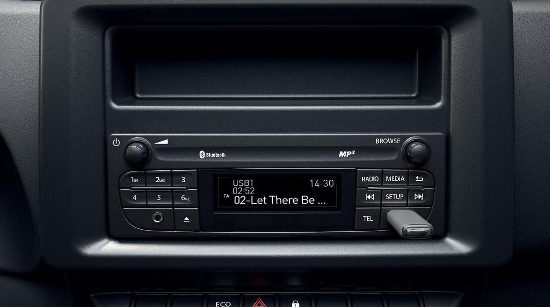 Radio avec Bluetooth® et 2 prises USB
