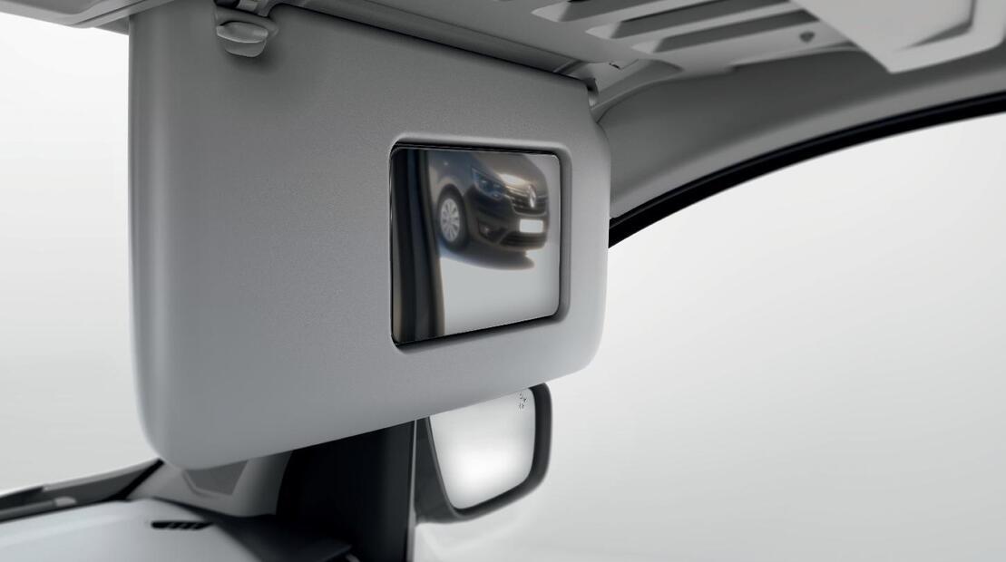 Wide View Mirror in Sonnenblende Beifahrer
