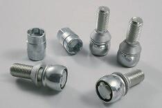 M12 kit antifurt cu 20 de șuruburi pentru jante din aluminiu