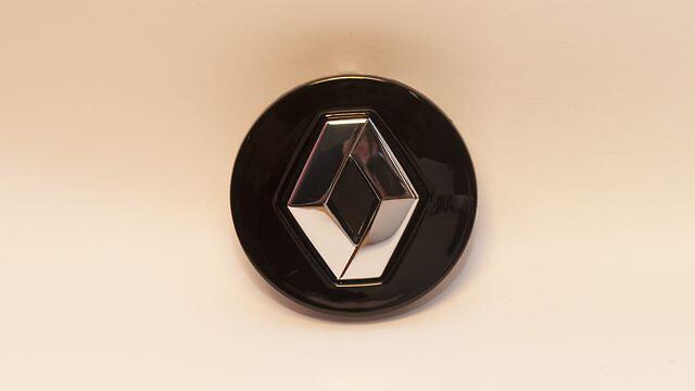 Глянцево-черный центральный колпак Renault
