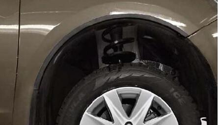 Накладки на арки колес (передние)