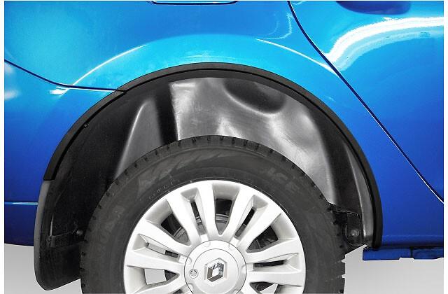 Комплект накладок арок колес (передние и задние)