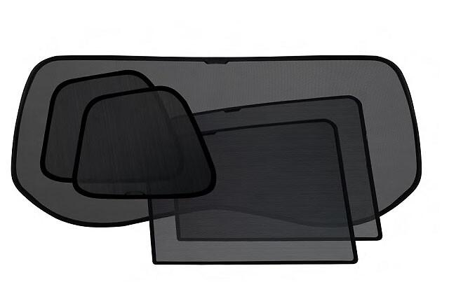 Комплект солнцезащитных шторок