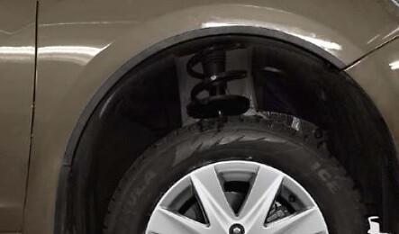 Накладки на арки колес (Задние)