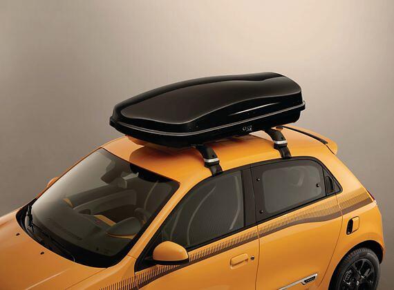 Жесткий багажник на крыше Renault, 380 л, рельефный черный цвет