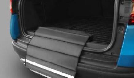 Резиновый коврик с защитой в багажник