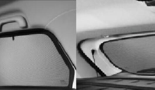 Солнцезащитные шторки (комплект)