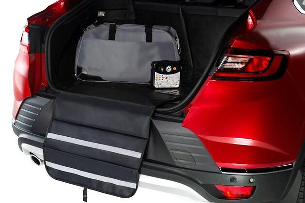 Резиновый ковер багажника с защитой