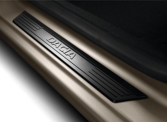 Seuils de porte AV Dacia Noir
