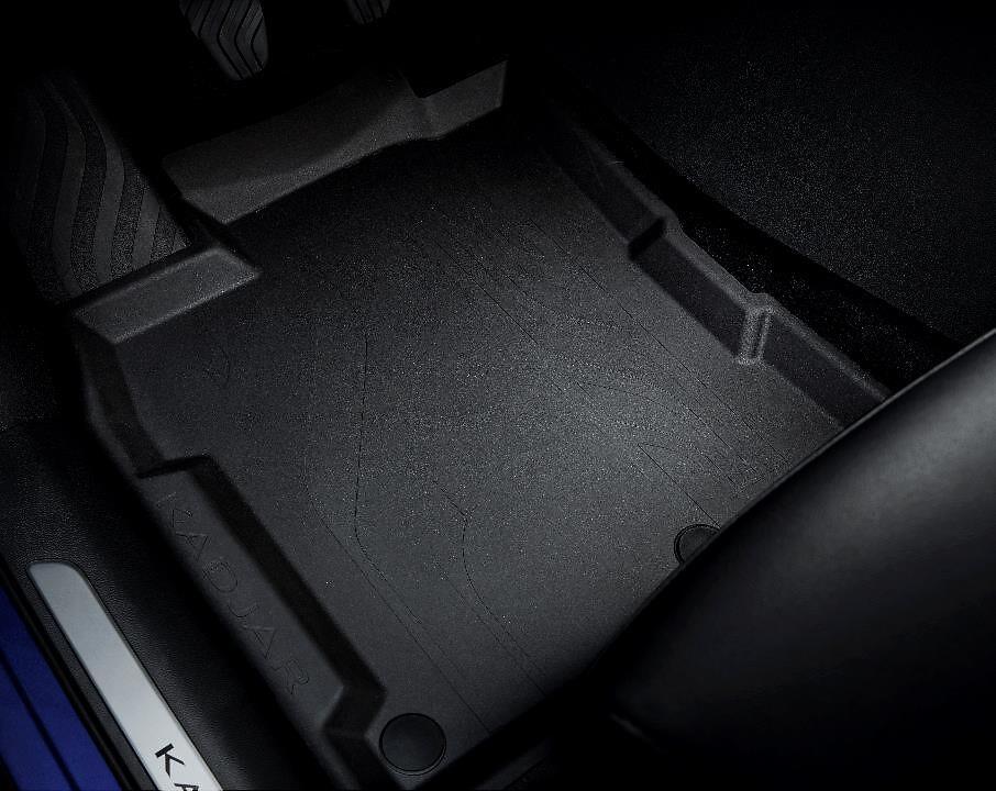 Tapis de sol caoutchouc à bords hauts (avant et arrière)