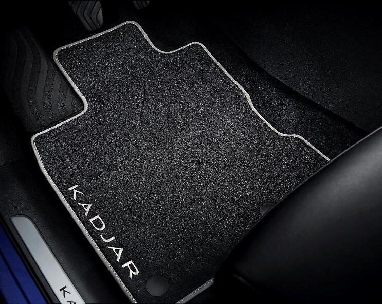 Tapis de sol textile - Premium (avant et arrière)