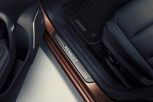 Protecție iluminate pentru praguri de uși față Renault