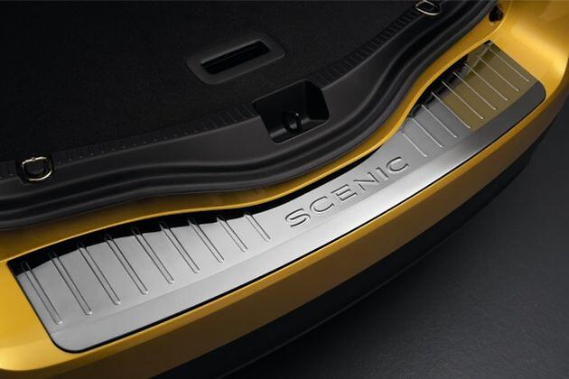 Gepäckraumkante - Edelstahl-Fahrzeug ohne einklappbare Anhängerkupplung