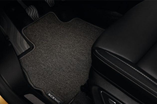 Tapis de sol textile Confort - véhicule avec console mobile
