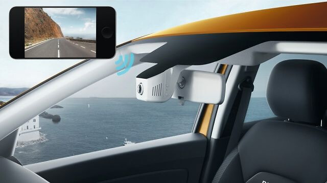Integrat in cutia neagra video – fara senzor de ploaie si luminozitate