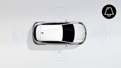 Alarme pour véhicules non prédisposés