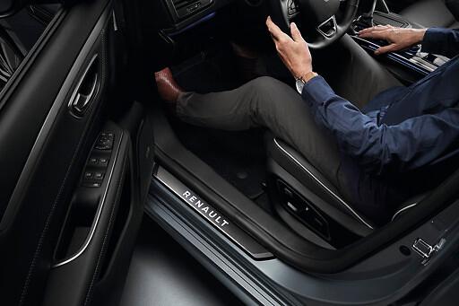 Seuils de porte éclairés Renault