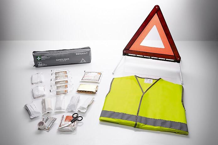 Kit sécurité(triangle,gilet jaune)