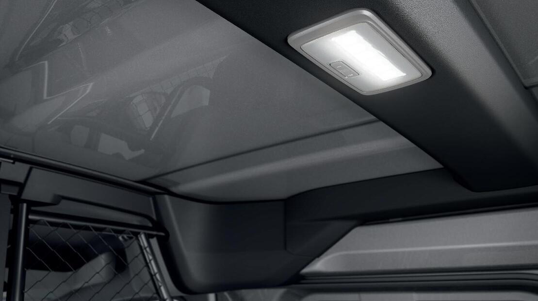 Eclairage LED dans la zone de chargement