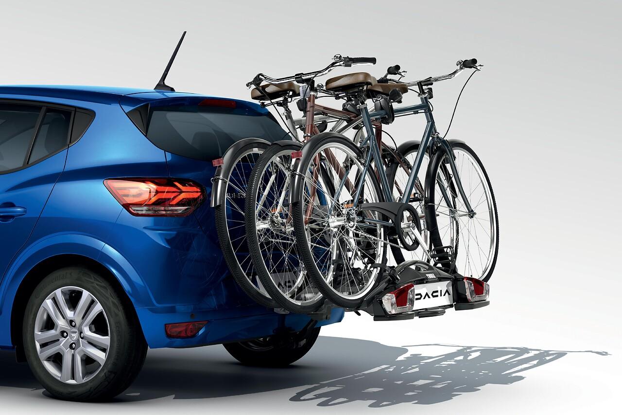 Porte-vélos Coach 3 vélos sur attelage 13 broches
