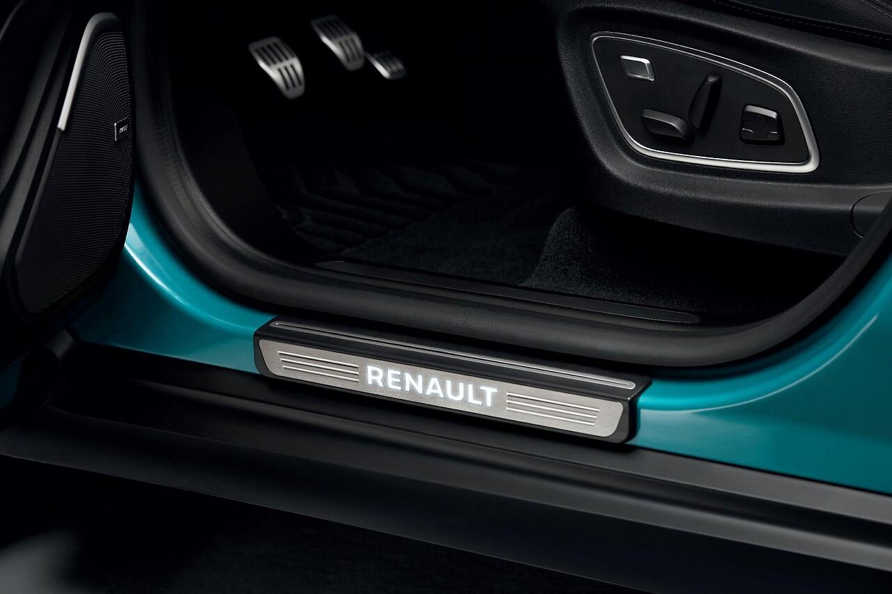 Beleuchtete Einstiegschweller - Renault - Gebürstetes Aluminium