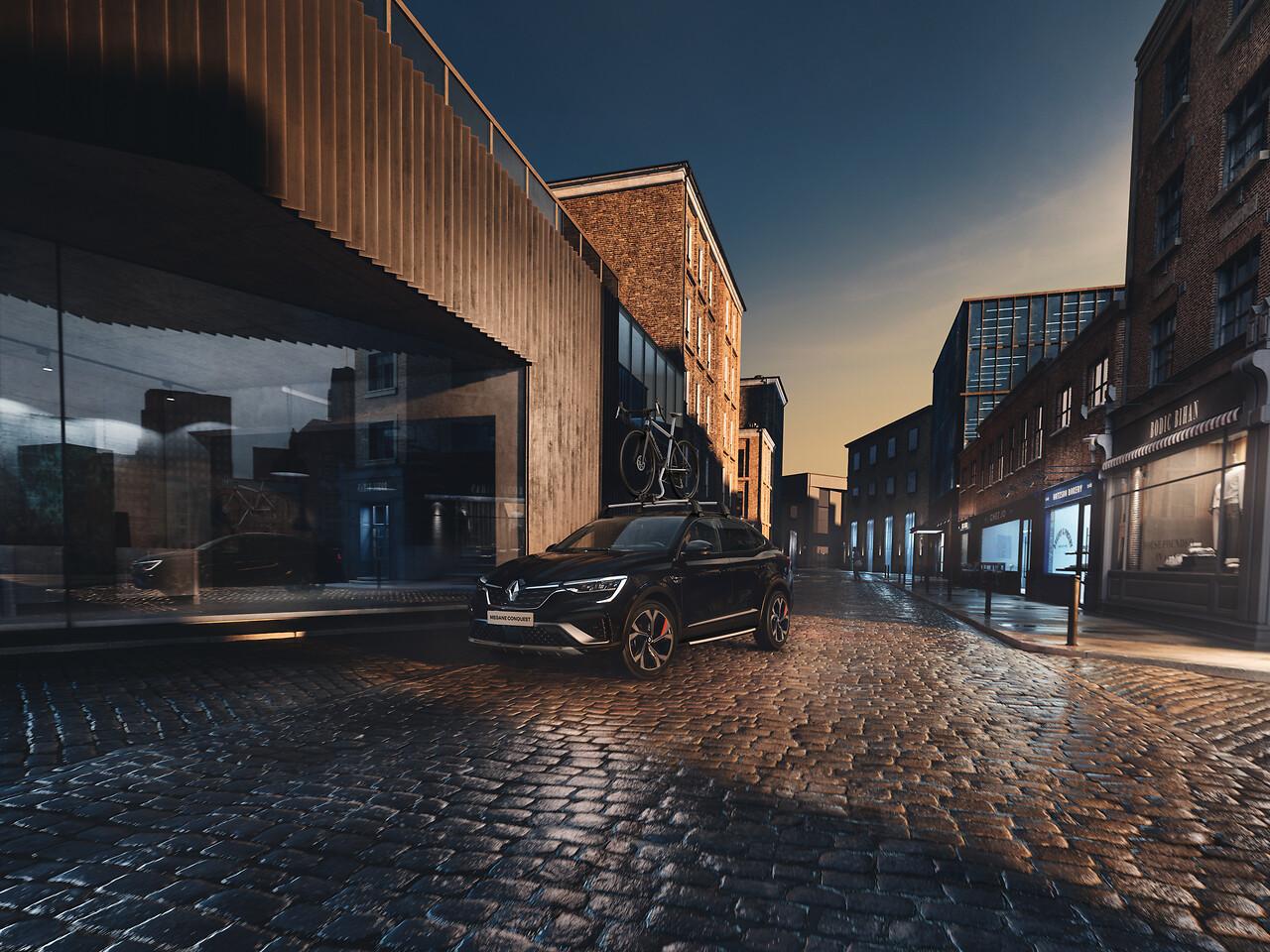 Portbagaj de pavilion rigid Renault, 480L