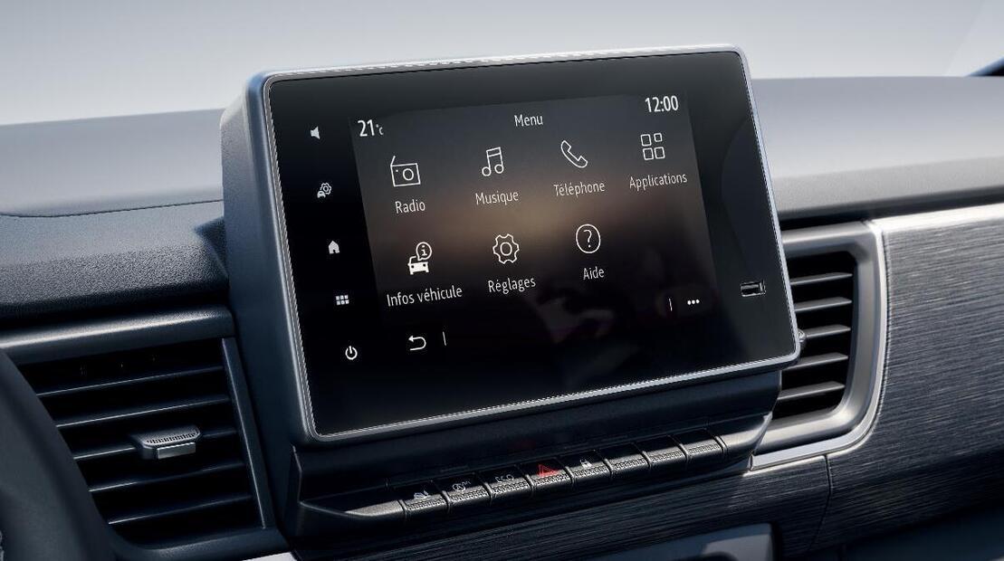 EASY LINK 8''-Display mit DAB-Radio (USB, AUX, Bluetooth, Apple Carplay& Android Auto)