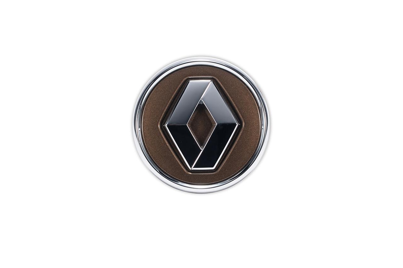 Sredinski pokrov Renault v barvi rjava Cappuccino s kromirano obrobo