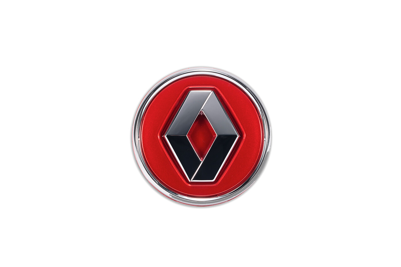 Cabochons Renault - Rouge Flamme