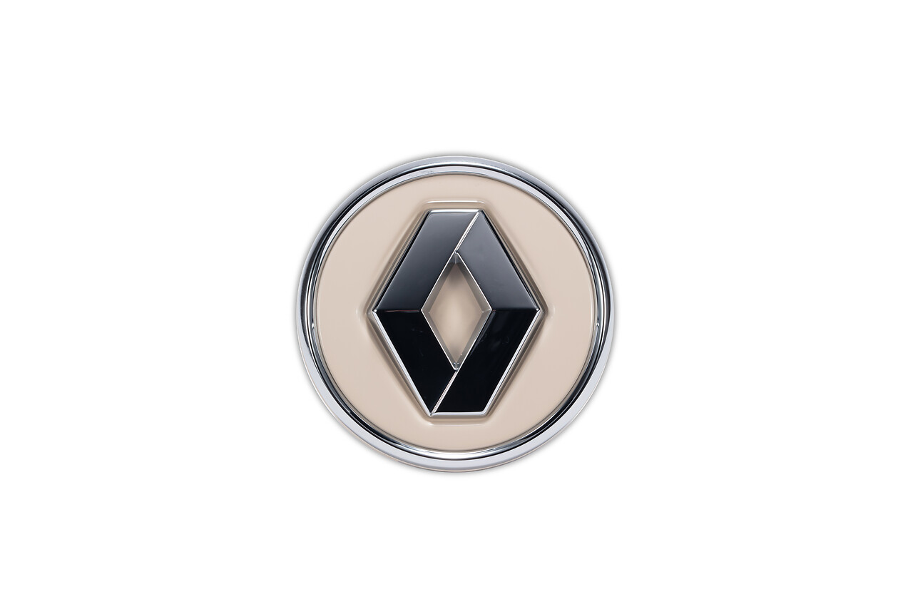 Centro de jante Renault - Branco Universo