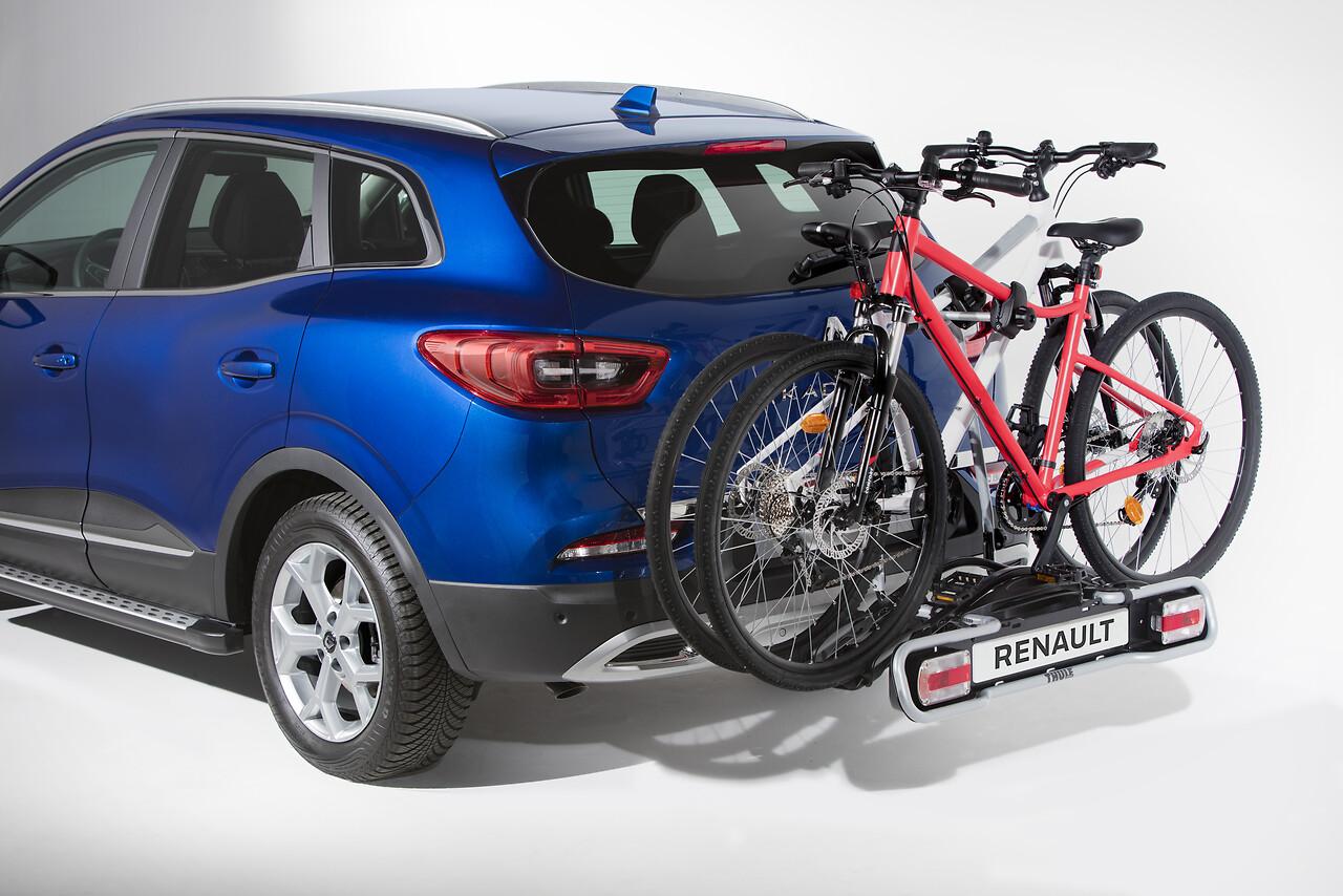 Porte-vélos Euroride 2 vélos sur attelage 7 broches