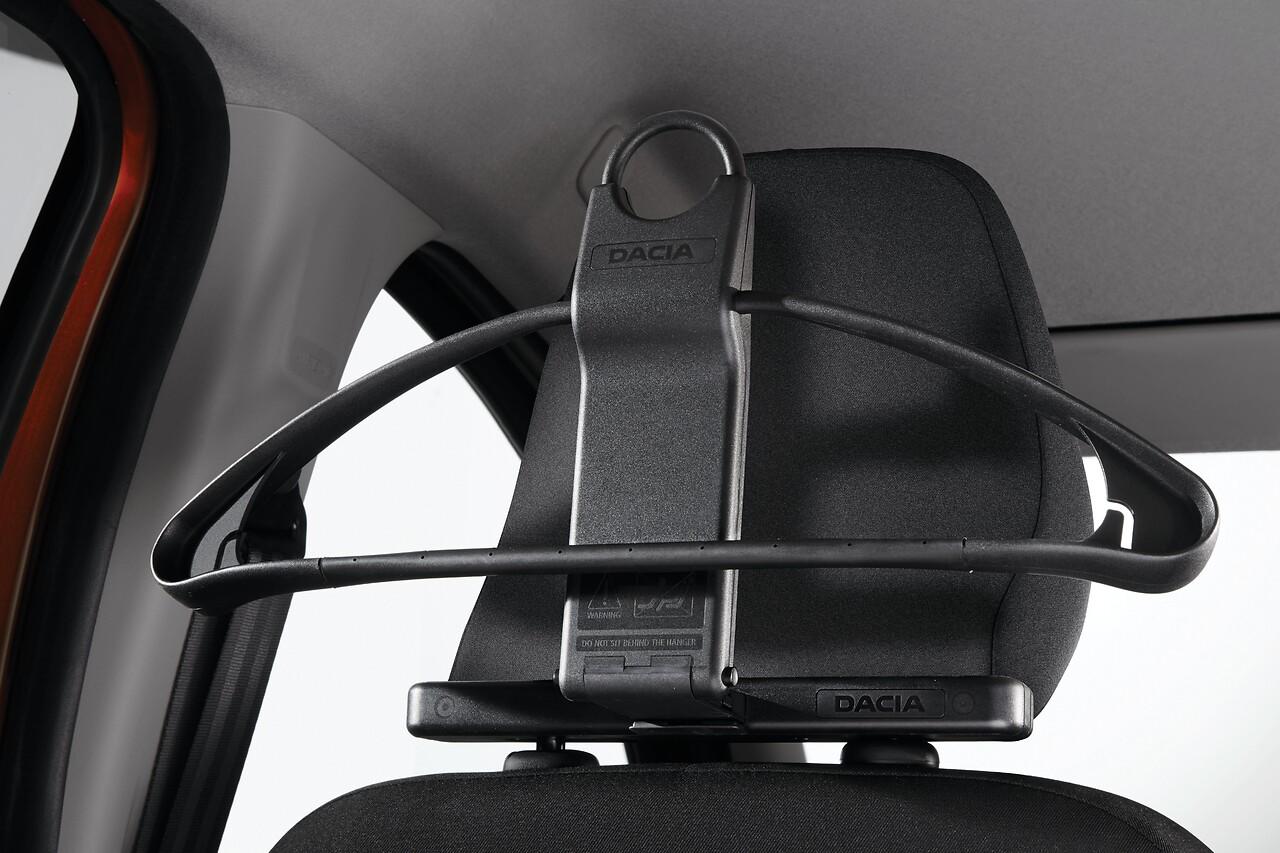 Cintre sur appuie-tête Dacia