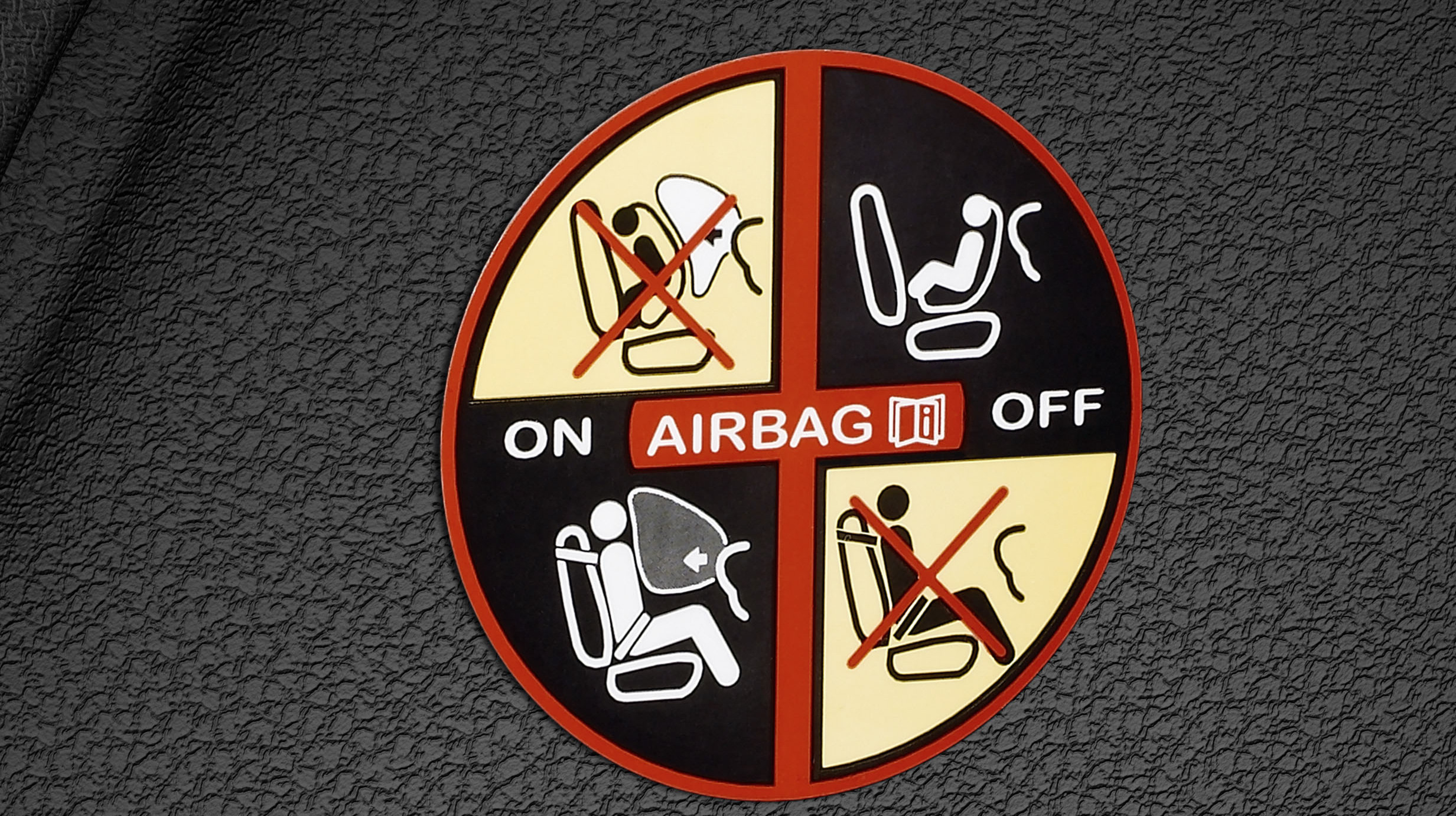 Airbag deconectabil pasager