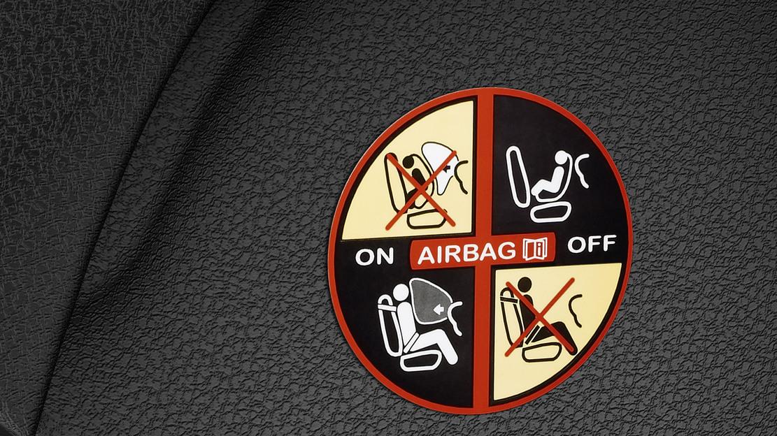 Beifahrerairbag deaktivierbar