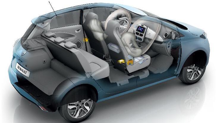Predné bočné airbagy